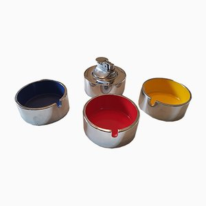 Stackable Ashtrays by Isamu Kenmochi