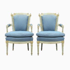 Gustavianische Stühle, 2er Set
