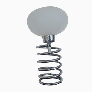 Lámpara vintage en forma de bulbo en espiral de Honsel