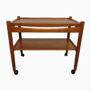 Danish Teak Serving Trolley from Bernstorffsminde, 1960s