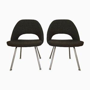 Chaises de Conférence ou de Salle à Manger Modèle 72 par Eero Saarinen pour Knoll Inc. / Knoll International, 1960s, Set de 6