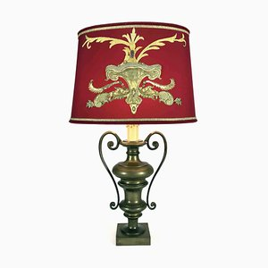Bronze Embroidered Table Lamp