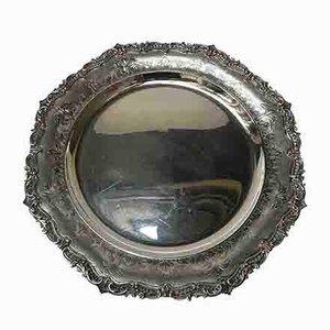Round Silver Centerpiece