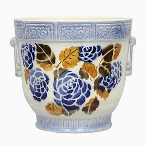 Maceta Art Déco de cerámica