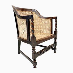 Edwardianischer Bergere Sessel