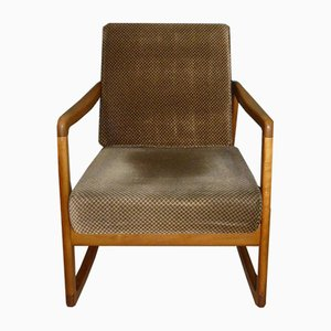 Model Fd120 Rocking Chair by Ole Wanscher for France & Daverkosen, 1950s