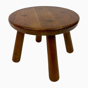 Round Philip Arctander Style Oak Table