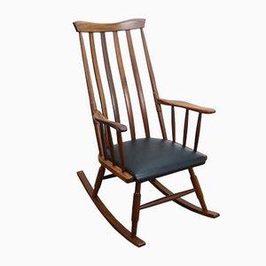 Mid-Century Scandinavian Style Rocking Chair