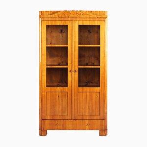 Biedermeier Bookcase in Cherry, 1840s