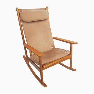Model 532A Teak Rocking Chair by Hans Olsen for Juul Kristensen