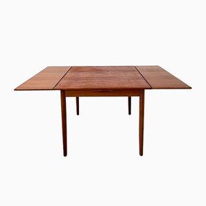 Mesa de comedor extensible de teca de Erik Buch para AR Møbelfabrik, años 60