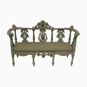 Irish Hall Bench, 1800s