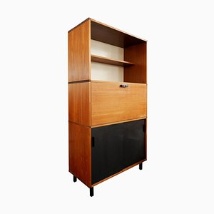 Teak Desk / Cabinet by Cees Braakman for Pastoe, The Netherlands, 1960s