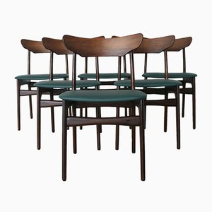 Rosewood Dining Chairs by Schiønning & Elgaard for Randers Furniture Factory, 1960s, Set of 6