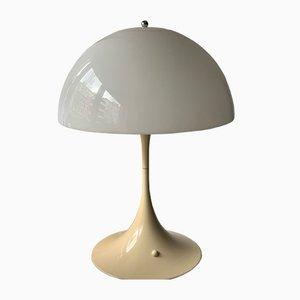 Lámpara de mesa Panthella vintage de Verner Panton para Louis Poulsen, años 70