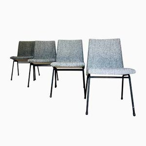 Chairs by Pierre Paulin for Meubles TV, Set of 4