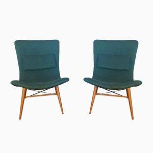 Mid-Century Czech Lounge Chair by Miroslav Navrátil for Čescky Nabytek, 1959