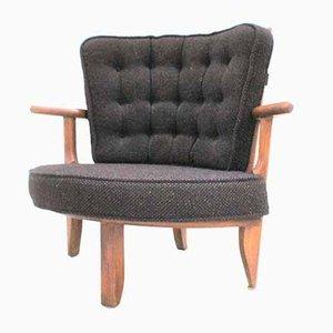 Lounge Chair by Guillerme Et Chambron for Votre Maison