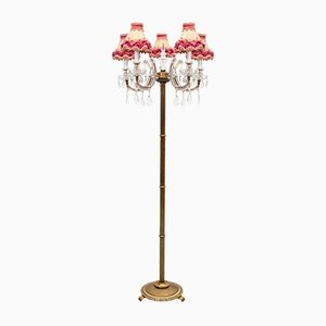 Louis XV Stil Stehlampe, Frankreich, 1960er