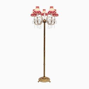 Louis XV Style Floor Lamp, France, 1960s