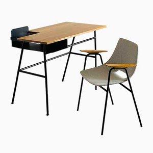 Schreibtisch von Claude Vassal für Magasins Pilote