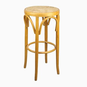 Vintage Bentwood Bar Stool by Michael Thonet for Thonet