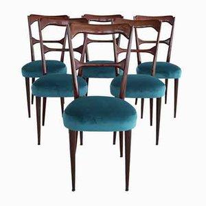 Chaises de Salle à Manger Mid-Century Style Paolo Buffa, Italie, 1950s, Set de 6