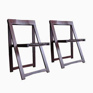 Folding Chairs by Aldo Jacober for Alberto Bazzani, Set of 6