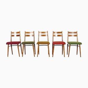 Esszimmerstühle von Ton, 5er Set