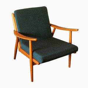 Scandinavian Oak Lounge Chair, 1950s
