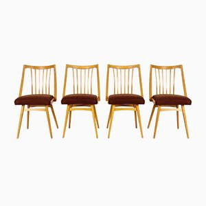 Dining Chairs by Antonín Šuman for Ton, Set of 4