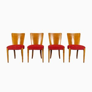 Dining Chairs by Jindřich Halabala for UP Závody, Set of 4