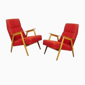 Armchairs from Interier Praha, Set of 2