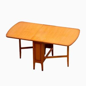 Skandinavischer Klappbarer Vintage Tisch