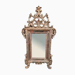 Silver Regency Mirror, 1850s