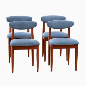 Vintage Scandinavian Chairs, Set of 4