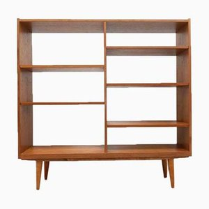 Danish Vintage Teak Open Bookcase