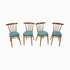 Dining Chairs by Tatra, Czechoslovakia, 1960s, Set of 4