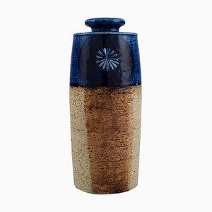 Vase in teilweise glasierter Keramik von Inger Persson für Rörstrand, 1970er