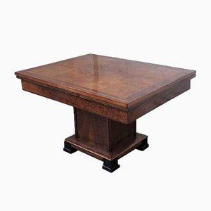 Art Deco Tisch aus Nussholz