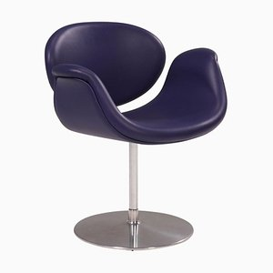 Purple Little Tulip Swivel Chair by Pierre Paulin for Artifort