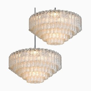 Large Ballroom Chandeliers from Doria, Set of 2