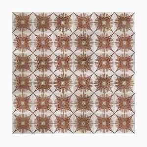Antique Tiles from Hemiksem, 1920s