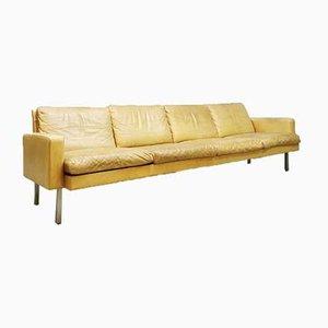 Vintage Dutch Bz 55 Leather Sofa by Martin Visser for t' Spectrum