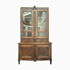 Französische Antike Bibliothek aus dem 18. Jahrhundert im Louis XVI Stil von FC Menant
