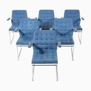 Mio Armchairs by Bruno Mathsson for Bruno Mathsson International, Set of 6