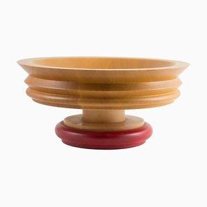 Schale aus Holz von Ettore Sottsass für Twergi