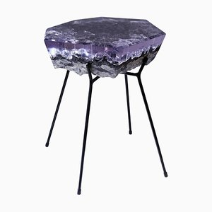 Solid Handmade Side Table by Jule Cats
