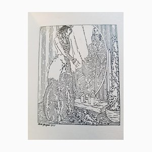 Willi Geiger - Death - Illustrated Book - 1914