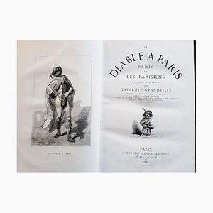 Paul Gavarni - Le Diable À Paris - Illustrated Book - 1869